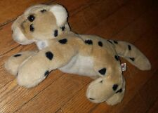 "Aurora A&A Flopsies Bean Bag Spotted Leopard Cheetah 12"" Stuffed Plush"