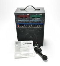 Vintage Karaoke Double Cassette Players Portable Singalodeon Model K-5 Equalize