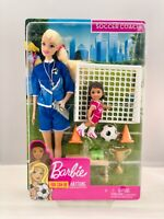NEW - Barbie Careers You Can Be Anything Soccer Coach Play Set