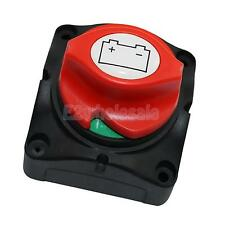 Marine Boat Car Battery Isolator Disconnect Rotary Switch Cut On/Off 60V