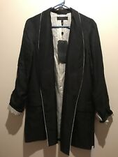 Rag And Bone Silk Jacket size small 100% silk.