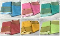 Designer saree Bollywood pakistani cotton silk sari ethnic kanchipuram indian KK