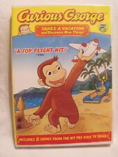 CURIOUS GEORGE Takes a Vacation DVD New Sealed includes 8 Shows