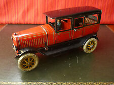 Extremely Rare 1930's Distler JDN 649 Large Tin Battery Electric Motor Limousine