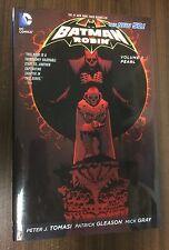 BATMAN & ROBIN Volume 2 Hardcover -- Pearl -- Tomasi -- OOP HC