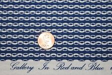 """""""GALLERY IN RED AND BLUE"""" REPRODUCTION QUILT FABRIC BY THE YARD MARCUS 0270-0150"""