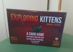 EXPLODING KITTENS Card Game - Original Edition