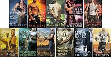 KGI Series Collection Set Books 1-11 Mass Market Paperback By Maya Banks New!