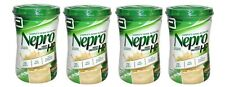 4 X NEPRO HP Vanilla Powder High Nutrition Energy Feed Carb Steady By Abbott GJ
