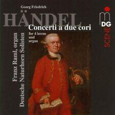 eorg Friederich Handel - Handel: Concerti a due cori [CD]