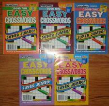Penny Press & Dell Crossword Puzzle Books