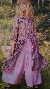 Curate by Trelise Cooper Love Float Lilac Dress - Flower Picnic Story - size S