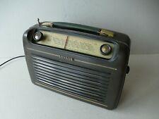Schaub Amigo 55 Röhrenkofferradio Bakellite L/M/K funktioniert! ca. 1954