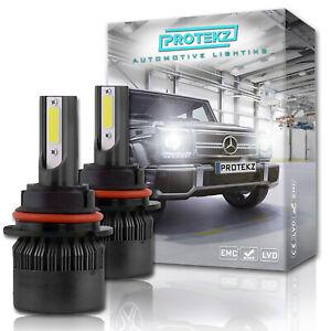 9007 HB5 LED Bulbs Car&Truck 6000K +150% Brightness +100% Extra Night Visibility