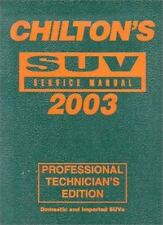 Chilton's SUV Service Manual-ExLibrary
