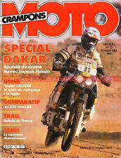 MOTO CRAMPONS  12 YAMAHA YZ 250 CR HONDA KTM MX KAWASAKI KX SUZUKI RM DAKAR 1986