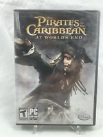 Pirates of the Caribbean at World's End PC Game NEW SEALED