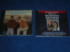 Lot of 2 Righteous Brothers Albums Cds Unchained Melody Nice!