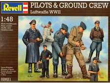Revell Germany WWII Luftwaffe Pilots and Ground Crew figure set  Model Kit 1/48