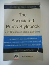 """""""The Associated Press Stylebook and Briefing on Media Law 2015"""" Associated Press"""