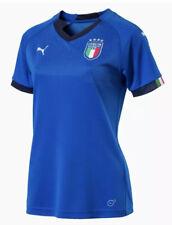 Puma Italy Italia 2018 Home Socccer Jersey 752287-01 Women's Medium Blue NEW $75