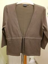 Mexx Olive Green Tie Front Cardigan Wrap Size 14