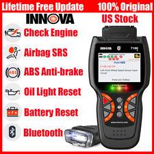 INNOVA 7100p OBDII ABS SRS Oil Reset Battery Eninge Car Diagnostic tool Scanner