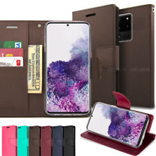 For Galaxy S20 Ultra / S20+ / S20 Case Wallet Flip leather Pocket Magnetic Clasp