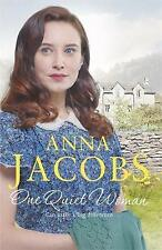 Anna Jacobs - One Quiet Woman -  Book One Ellindale Saga - New SC