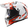 LS2 MX436 Pioneer Adventure Helmet - Trigger/SMALL