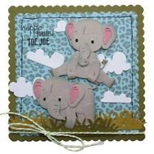 Metal Cutting Baby Elephant Die Cut Mold DIY Scrapbooking Craft Card~ DjKOo