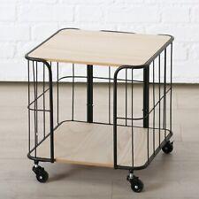 Servierwagen mit Rollen Beistelltisch Teewagen Küchenwagen Esszimmer Wohnzimmer