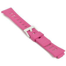 Genuine replacemnt Casio wristwatch band SDB-100-4 SDB-100J-4 SDB100 Pink strap