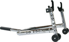 Powerstands MAX Chrome Swingarm Race / Rear Stand! R1 R6 GSXR ZX9R Black Handle