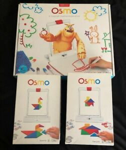 Osmo Creative Set & Accessory Lot  - Genius Kit & Starter Kit