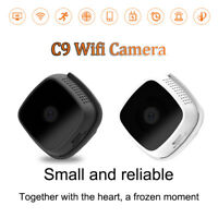C9 Mini Camera Recording Video 720P HD Motion Dtection Wifi Wireless IP Control
