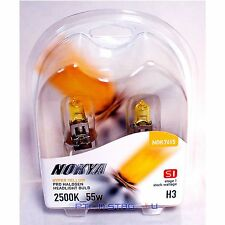 Nokya H3 Hyper Yellow S1 Headlight Fog Light Halogen Light Bulb 1 Pair NOK7615