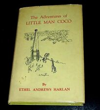 1966 ADVENTURES OF LITTLE MAN COCO in Animal World-Inscribed Ethel Harlan HC/DJ