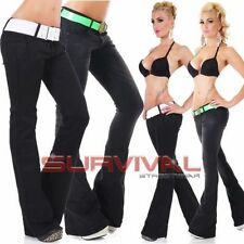 Flare Machine Washable Low Rise Jeans for Women