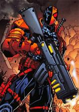 DEATHSTROKE / DC Comics The New 52 (Cryptozoic 2012) BASE Trading Card #17
