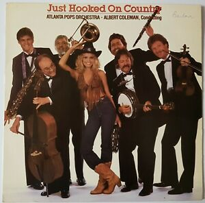 JUST HOOKED ON COUNTRY VINYL LP RECORD