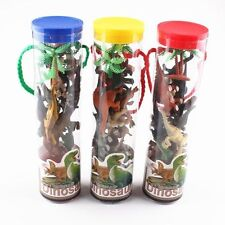 Small Collectibles Assorted Animal Kids Model Toy Dinosaur 12pcs Plastic