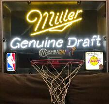 1993 NBA Miller Genuine Draft BackBoard L.A Lakers Kobe Bryant SIGNED! 1 of 1 🔥