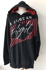 Men's Air Jordan Flight Noir Sweat à Capuche Pull XXL