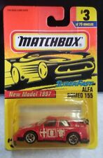 Matchbox 1997 SUPER FAST Alfa Romeo 155 3/75 NEW IN DAMAGED PACKAGE