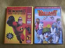 Disney Valiant Dvd The Incredibles Audio Story Adventure Cd Booklet Collectible
