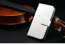 For Apple iPhone 6 6s Plus SE 5s Flip Genuine Leather Magnetic Wallet Case Cover