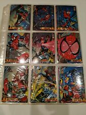 1994 FLEER MARVEL 150 CARD BASE SET Complete Spiderman 1994 plus holograms NICE!