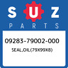 09283-79002-000 Suzuki Seal,oil(79x99x8) 0928379002000, New Genuine OEM Part