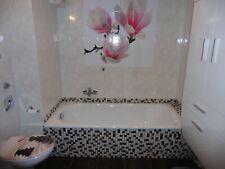 Badezimmer Fliesenaufkleber Fliesenbild Magnolie Neu!1mx1m!!